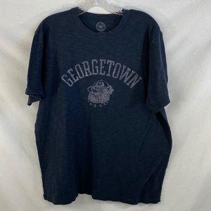 Georgetown University Navy Blue Tee - XL